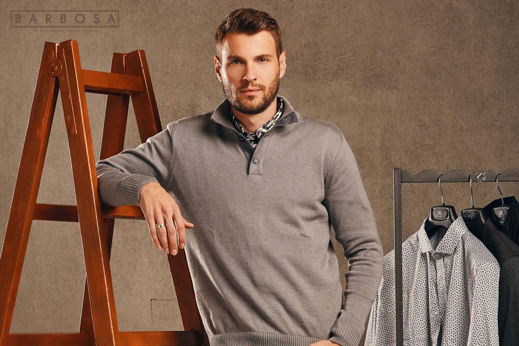 Kako da kombinujete džemper s košuljom